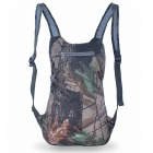 Outdoor Super Lightweight Folding Rainproof Backpack Bag - Maple Camouflage (25~35L)