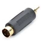 S-Video Male to RCA Male Video Adapter