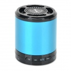 Tmusik X200 Bluetooth v2.1 Bass Speaker w/ Microphone / TF - Deep Blue