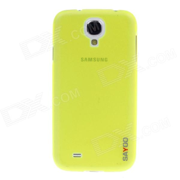 SAYOO 2335 Protective TPU Back Case for Samsung Galaxy S4 i9500 - Fluorescent Green
