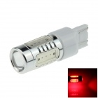 7443 / 7440 / T20 7.5W 500lm 700nm 5-LED Red Car Steering / Tail / Signal / Brake Light - (12~24V)