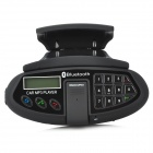 "LSON LB4 2.8"" Screen Car Bluetooth Multipoint Speakerphone w/ Keyboard / FM - Black"