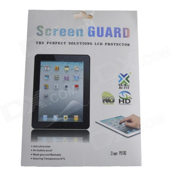 Protective Clear Screen Protector Guard Film for Samsung P5100 10.1