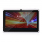 "Olut M3 7.0 ""Android 4.1 Tablet PC w / 512MB RAM, 4GB ROM, Wi-Fi, TF - Weiß"