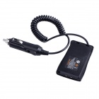 baiston BST-1 bilbatteri eliminator adapter för walkie talkie - svart