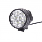 7T6 5000lm 3-Mode Cool White Bicycle Light avec 7 * XM-L T6 (6 * 18650)