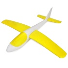 S186 Fashionable EPP Hand Launch Glider Airplane Toy - White+Yellow