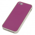 Stylish Protective Silicone Back Case for Iphone 5 / 5c / 5s - Deep Pink + Grey