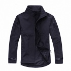 ESDY Men's Warm Windproof Rainproof Jacket - Black (Size XL)