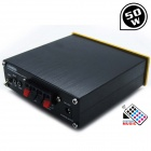 LINE5 Black And Gold A920 50W+MP3 Digital Power Amplifier HIFI Power Amplifier Power Amplifier