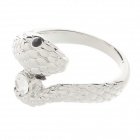 Fashion Cool Snake Style Women's Rings - Silver (US Size 8.5)
