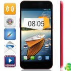 "M Pai 809T MTK6582 Quad-core Android 4.3 WCDMA Bar Phone w/ 5.0""HD, 4GB ROM, GPS - Black + Deep Pink"