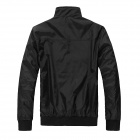 Gusskater B028 Men's Fashion Thick Jacket - Black (L)