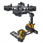 BLG2SN Glass Fiber Brushless Camera Gimbal Mount Frame with BGM4108-130 2-Axis Motors FPV - Black