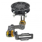 BLG2A Glass Fiber Brushless Camera Mount Frame with BGM2208-70 2-Axis Motors for FPV - Black