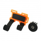"Bicycle Plastic + Aluminum Alloy 1/4"" Holder Mount for GOPRO Hero 4/ DSLR / Digital Camera - Orange"