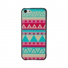 Elonbo J5A Relief Tribal Ethnic Style Protective PC Back Case for Iphone 5C - Multicolored