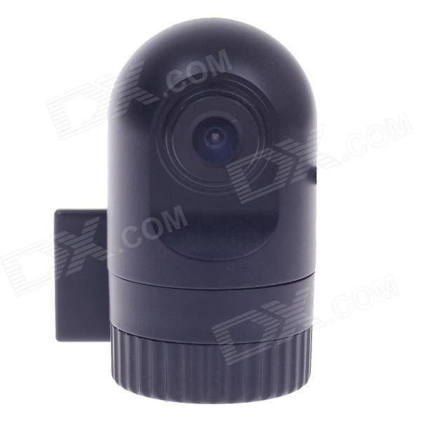 XY-Q1 5.0 MP CMOS Portable Mini HD Car DVR Driving Recorder - Black