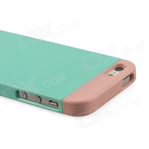 phoneadd three piece candy color protective case for iphone 5 5s green pink free. Black Bedroom Furniture Sets. Home Design Ideas