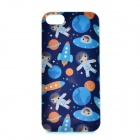 LOFTER Winter Sonata Happy Children Style Protective Back Case for Iphone 5S - Blue