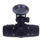 "XINGTIANXIA HD-J102 1.5"" TFT 5.0 MP CMOS Car Vehicle DVR Camcorder w/ 4-IR LED - Black"