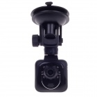 "XINGTIANXIA HD-128 1.5"" TFT 5.0 MP CMOS Car Vehicle DVR Camcorder w/ 6-IR LED - Black"