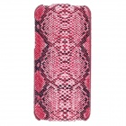 SAYOO Snakeskin Regulus Series Vertical Open Protective PU Leather Case for Iphone 5 / 5s - Red