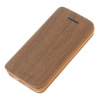 Fashionable Flip-Open Protective PU Leather Case Cover for Iphone 5C - Light Brown