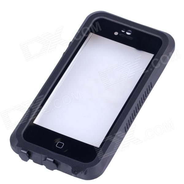 IPEGA I5056 Waterproof Protective Case for Iphone 5 / 5S / 5c - Black ipega pg i6001 waterproof protective pc full body case for iphone 6 black yellow