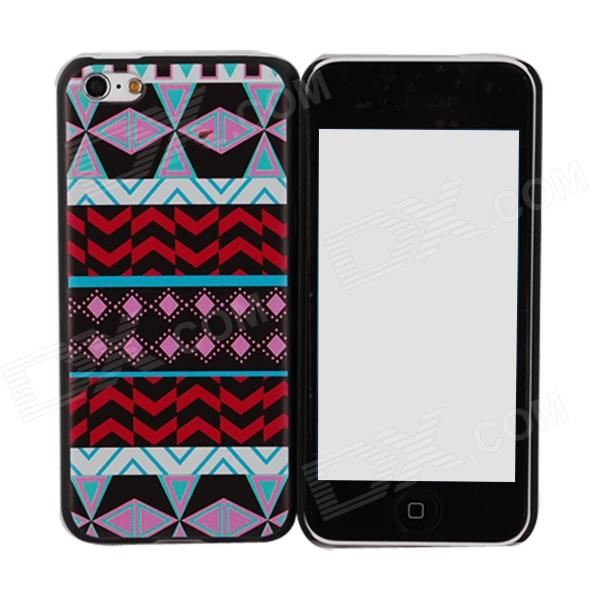 Elonbo J5A Relief Tribal Ethnic Style Protective PC Back Case for Iphone 5C - Multicolored the integration of ethnic kazakh oralmans into kazakh society