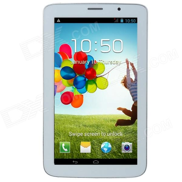 "P3000 7"" Android 4.2.2 Dual Core Tablet PC 512 Mt RAM, 4 gt ROM, 2G-Puhelin, TV, GPS, Bluetooth, FM"