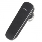 ROMAN X3S Stereo Bluetooth Headset w/ iOS Power Display - Black
