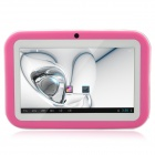 "R702C 7.0"" Android 4.1 Tablet PC w/ 512MB RAM, 8GB ROM, Wi-Fi, Dual Camera, HDMI - Pink + White"