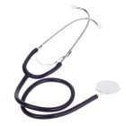 Healthy Medical Single Head Stethoscope - Black + Silver