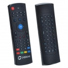 CHEERLINK MX3 2.4G Double keyboard Wireless Air Mouse w/ Remote Control - Black