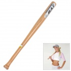 Hard Wood Defensive Baseball Bat - Natural (Size XL)