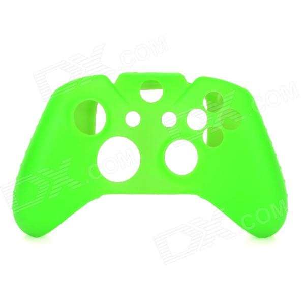 Protective Silicone Case for XBOX ONE - Green protective silicone case for xbox one controller camouflage green