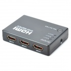 Ourspop U70 1080p HDMI V1.4 Switch w/ Remote Controller - Black (3 -in/1-out)