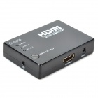 Ourspop U70 1080p HDMI V1.4 conmutador w / control remoto - negro (3-in / 1-out)