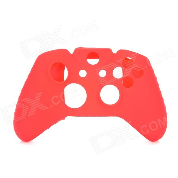 Protective Silicone Case w/ Rocker Caps for XBOX ONE Controller - Red protective silicone case for xbox one controller camouflage green