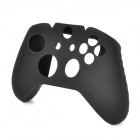 Protective Silicone Cover Case w/ Joystick Caps for XBOX One Joypad - Black