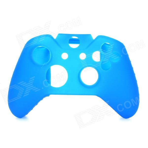 Protective Silicone Case w/ Rocker Caps for XBOX ONE Controller - Deep Blue protective silicone cover case for xbox 360 controller yellow blue