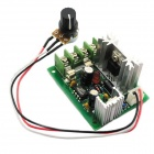 Jtron 12V / 24V / 30V 120W Controller / CCM5 PWM DC Motor Speed Controller w/ Fuses - Green + Silver