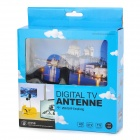 DVB-TW35B Classical Pattern Architecture DVB-T 35dB IEC Digital TV Antenna - Preto