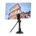 DVB-TW35B Colosseum Pattern DVB-T 35dB IEC Digital TV Antenna - Black