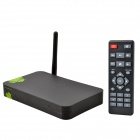 A801 1080P Dual-Core Android 4.2 Google TV Player w / 1 GB RAM, 4 GB ROM - Schwarz