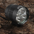 SingFire SF-818 5  x CREE XM-L T6 3000lm White 5-Mode LED Bicycle Front Light - Gray (6x18650)