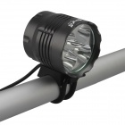 SingFire SF-818 3000lm White 5-Mode LED Bicycle Front Light - Gray (6x18650)
