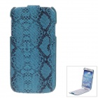 SAYOO 2314 Snakeskin Regulus Series Protective PU Leather Case for Samsung Galaxy S4 i9500 - Green