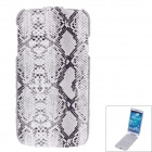 SAYOO 2324 Snakeskin Regulus Series Protective PU Leather Case for Samsung Galaxy S4 i9500 - White